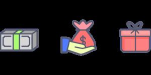 zdjecie przedstawiające worek z pieniędzmi