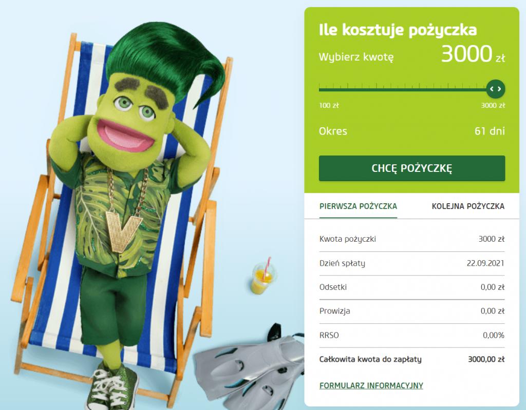 Fot. Screen / vivus.pl (na dzień 23.07.2021)